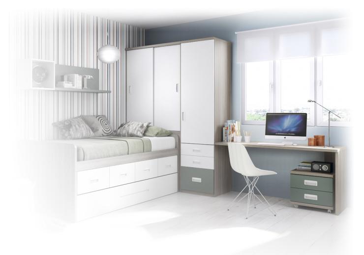 jeune habitat coordina mobilier. Black Bedroom Furniture Sets. Home Design Ideas